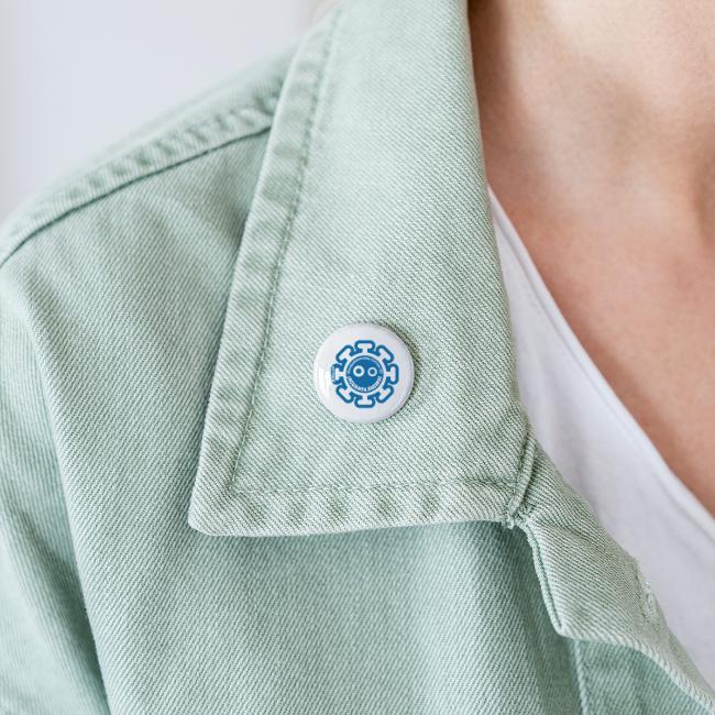 Corona Virus #mequedoencasa azul