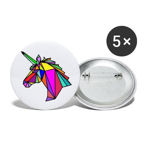 COLORS - Paquete de 5 chapas pequeñas (25 mm)