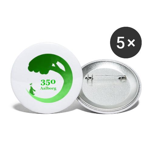 350 Aalborg logo - Buttons/Badges lille, 25 mm (5-pack)