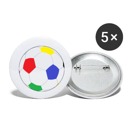 Lesser Spotted Football Logo - Buttons small 1''/25 mm (5-pack)