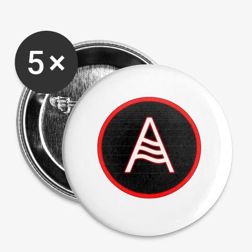 EL ANDALUZ LOGO A - Buttons klein 25 mm (5er Pack)