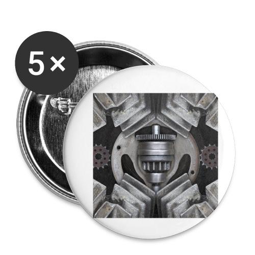 metalen motor onderdelen - Buttons klein 25 mm (5-pack)