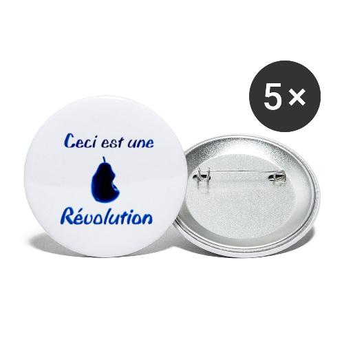 Ceci est une révolution - Lot de 5 petits badges (25 mm)