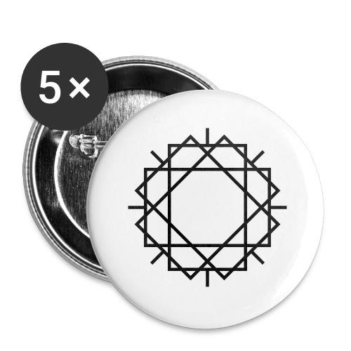 Widerstand mit Spaß 20.1 - Buttons klein 25 mm (5er Pack)