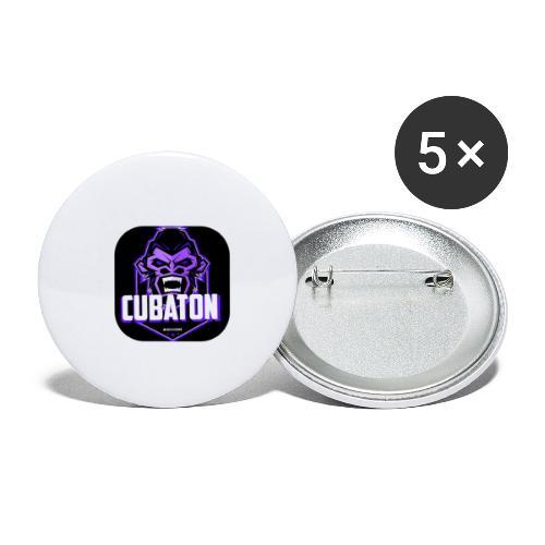 CUBATON - Paquete de 5 chapas pequeñas (25 mm)