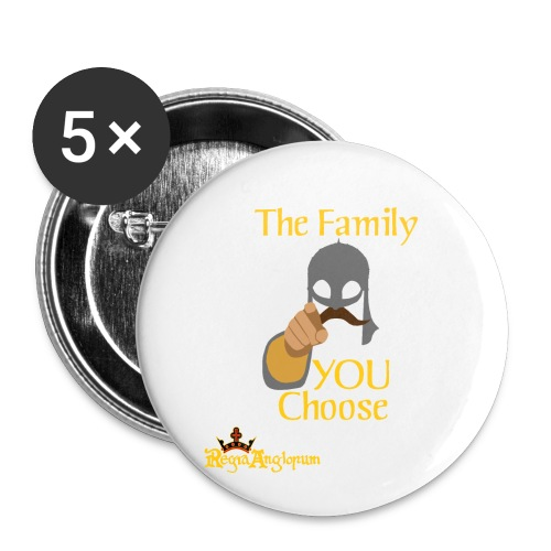 The Family You Choose - Buttons small 1''/25 mm (5-pack)