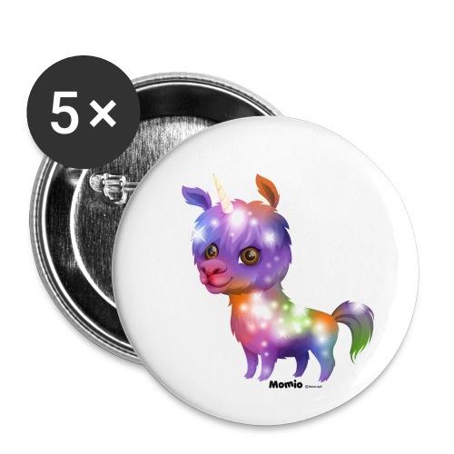 Lamacorn - Buttons klein 25 mm (5er Pack)