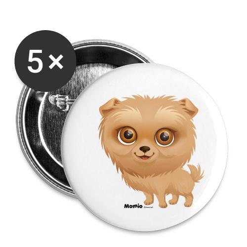 Dog - Buttons klein 25 mm (5er Pack)