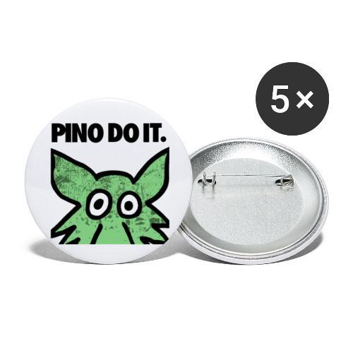 PINO DO IT - Confezione da 5 spille piccole (25 mm)