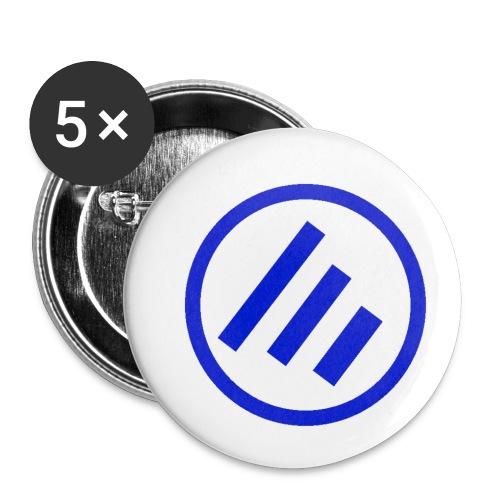 Ecsotic Sounds Friendly pack p of joy - Buttons klein 25 mm (5er Pack)