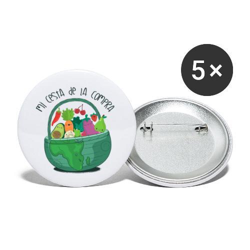 Mi cesta de compra - Paquete de 5 chapas pequeñas (25 mm)