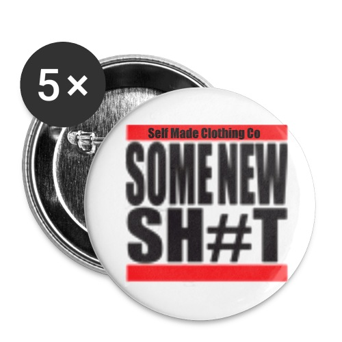 SOME NEW SH T - Buttons small 1''/25 mm (5-pack)
