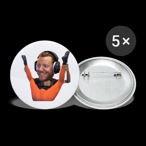 mis clik - Buttons small 1''/25 mm (5-pack)
