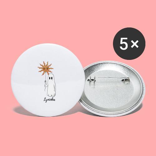Lynioka Fantôme - Lot de 5 petits badges (25 mm)