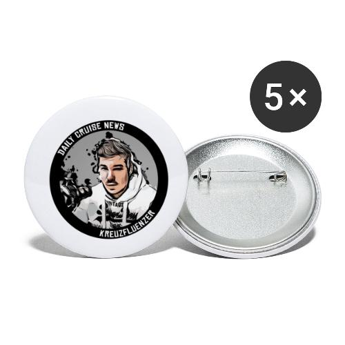 Daily Cruise News - US Edition - Buttons klein 25 mm (5er Pack)