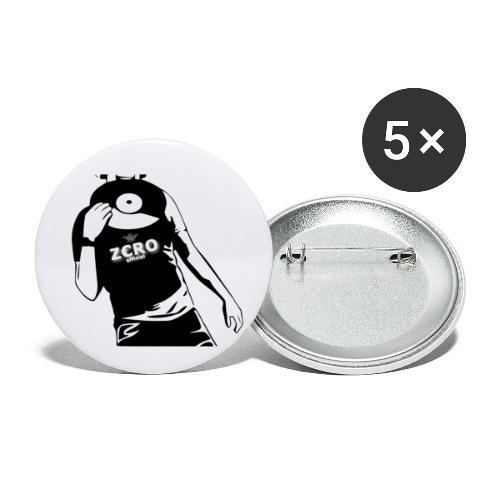F@ck me I am a Dj - Buttons small 1''/25 mm (5-pack)