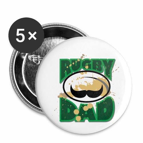 MarPlo Rugpapa - Confezione da 5 spille piccole (25 mm)
