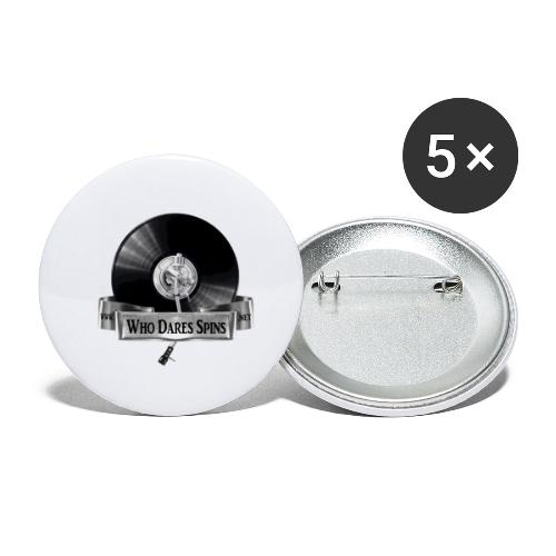 Badge - Buttons small 1''/25 mm (5-pack)