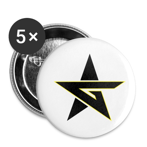 Last Dragon - Buttons small 1''/25 mm (5-pack)