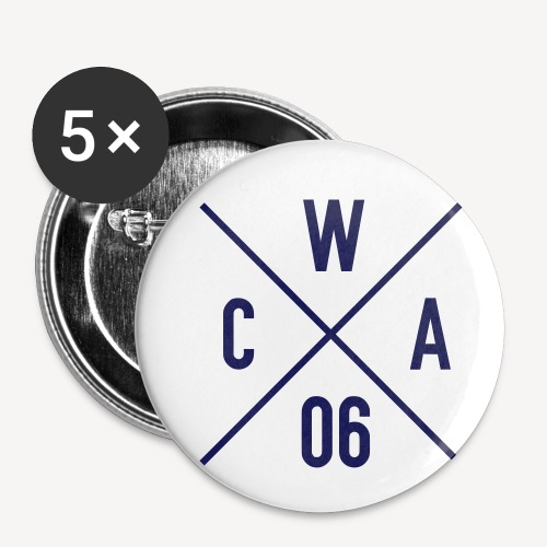 CATHOLICS WITH ATTITUDE (EST 2006) - Buttons small 1''/25 mm (5-pack)