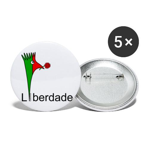 Galoloco - Liberdaded - 25 Abril - Buttons klein 25 mm (5er Pack)