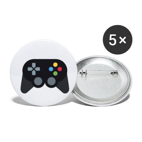 Spil Til Dig Controller Kollektionen - Buttons/Badges lille, 25 mm (5-pack)