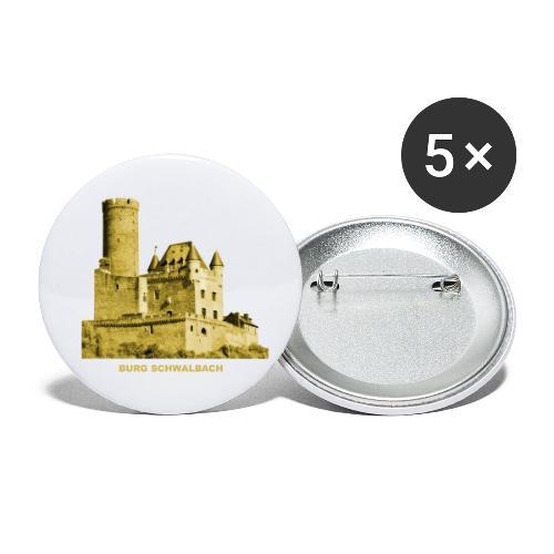 Schwalbach Burg Nordrhein-Westfalen - Buttons klein 25 mm (5er Pack)
