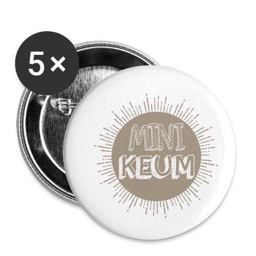 Grossesse - Lot de 5 petits badges (25 mm)