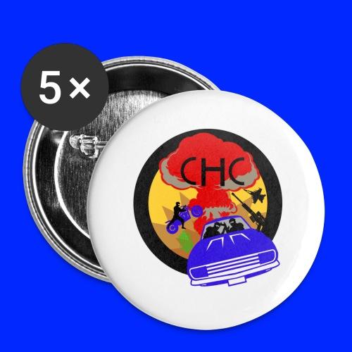 CHC Crew Logo GTA - Små knappar 25 mm (5-pack)