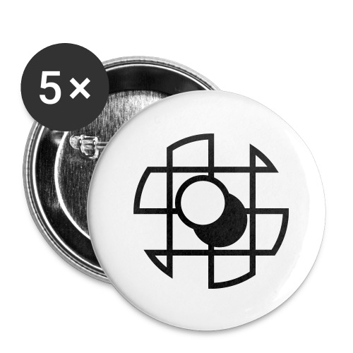 gologo svg - Buttons small 1''/25 mm (5-pack)