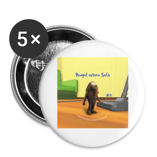 button cover - Buttons klein 25 mm (5er Pack)