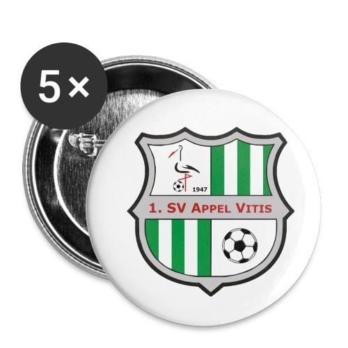 logo sv vitis - Buttons klein 25 mm (5er Pack)