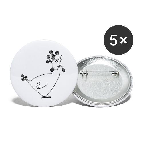 Cosmic Chicken - Buttons small 1''/25 mm (5-pack)