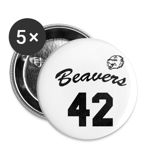 Beavers front - Buttons klein 25 mm (5-pack)