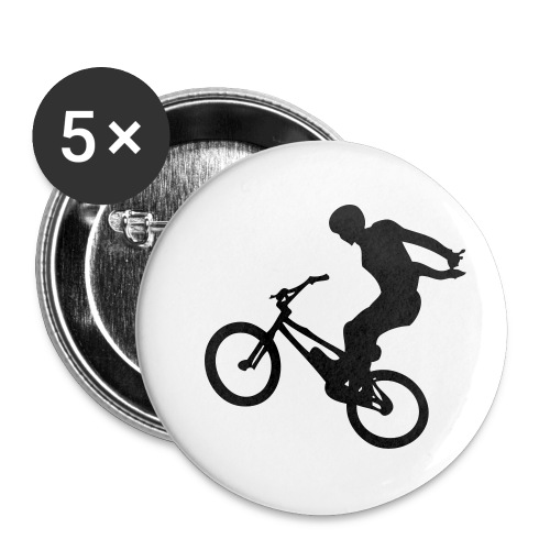 No Hand - Lot de 5 petits badges (25 mm)