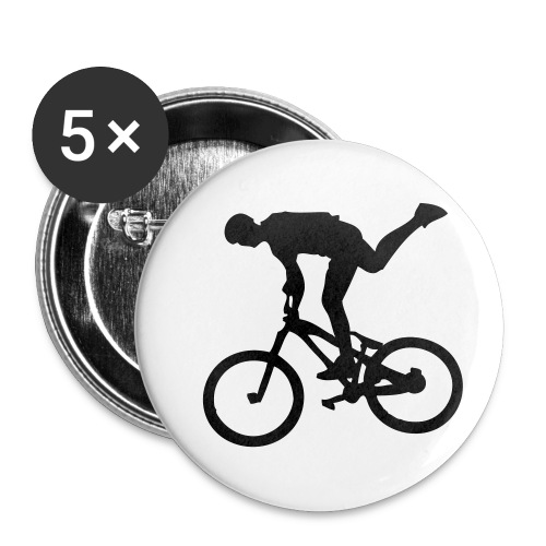 One Foot - Lot de 5 petits badges (25 mm)