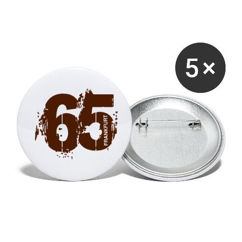 City_65_Frankfurt - Buttons klein 25 mm (5er Pack)