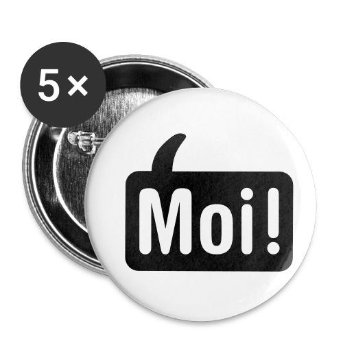 hoi shirt front - Buttons klein 25 mm (5-pack)