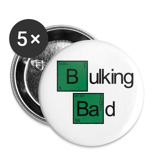 Bulking Bad - Buttons klein 25 mm (5er Pack)