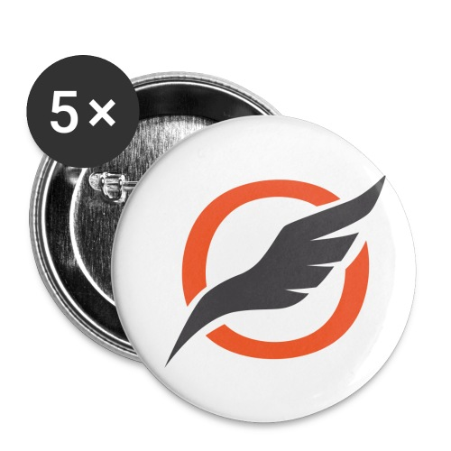 O Sign png - Buttons small 1''/25 mm (5-pack)
