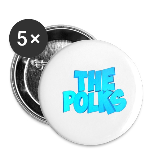 THEPolks - Paquete de 5 chapas pequeñas (25 mm)