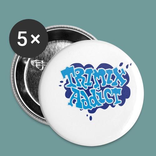 TRIMIX_small - Lot de 5 petits badges (25 mm)