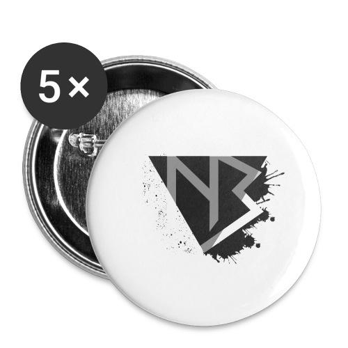T-shirt NiKyBoX - Confezione da 5 spille piccole (25 mm)