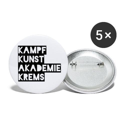 KKA 2016 lifestyle back2 - Buttons klein 25 mm (5er Pack)