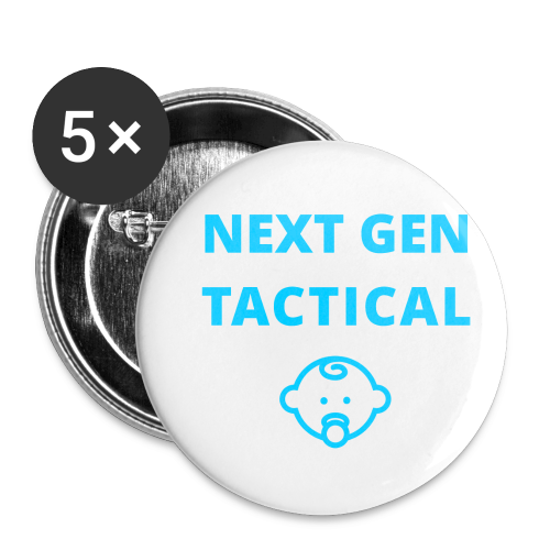 Tactical Baby Boy - Buttons klein 25 mm (5-pack)