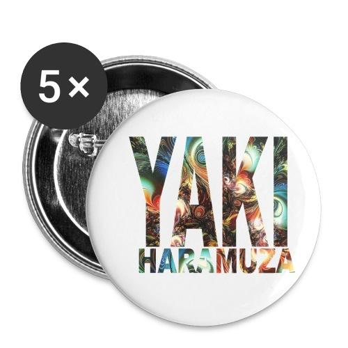 YAKI HARAMUZA BASIC HERR - Små knappar 25 mm (5-pack)