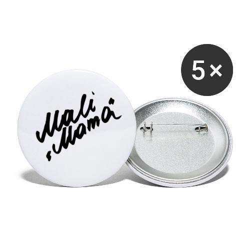 MaliMama - Buttons klein 25 mm (5er Pack)