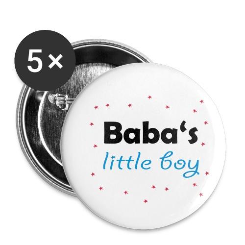 Baba's litte boy Babybody - Buttons klein 25 mm (5er Pack)