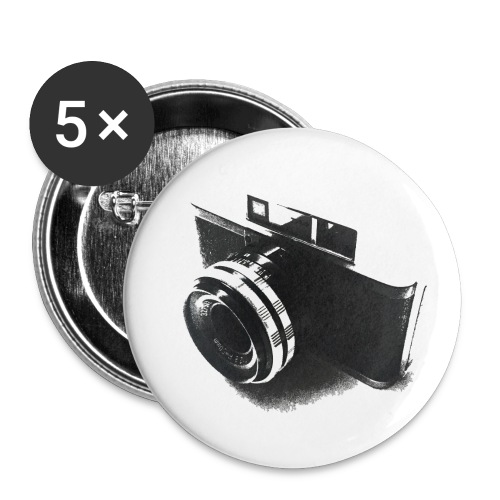 camara (Saw) - Buttons small 1''/25 mm (5-pack)