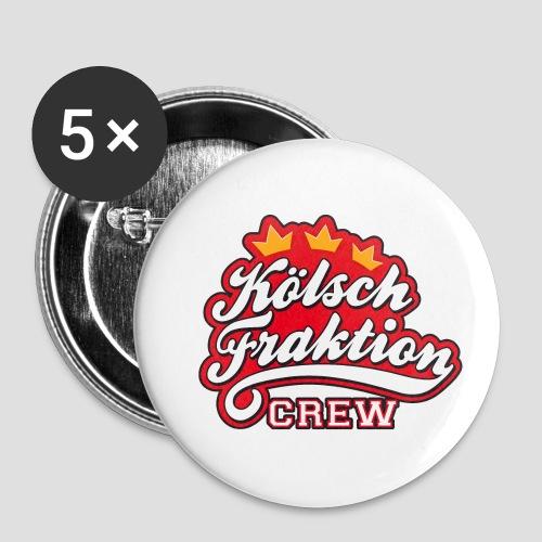 KölschFraktion CREW - Buttons klein 25 mm (5er Pack)